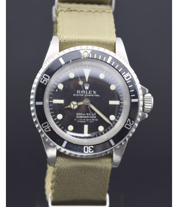 "Rolex Submariner 5512 ""meter first"" 1.5 mil series"