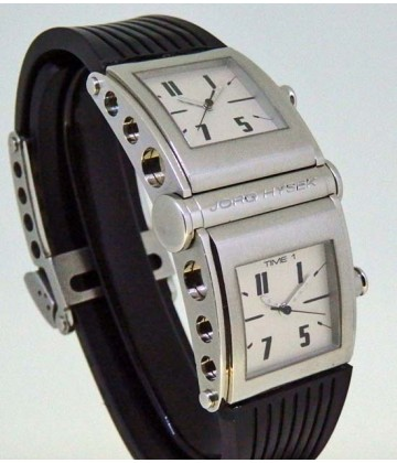 Jorg Hysek 2 time zone quartz