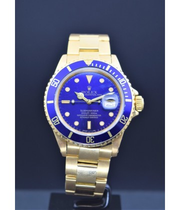 Rolex Submariner gold 16808, watch only.
